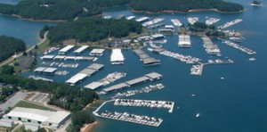 holiday marina on lake lanier georgia